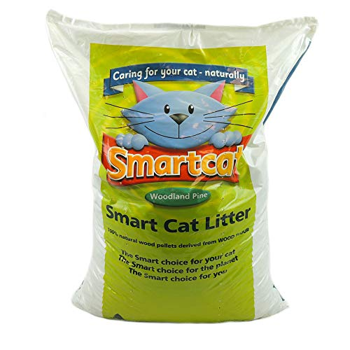 Smart Cat Wood Litter 30ltr