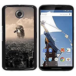 For Motorola NEXUS 6 / X / Moto X Pro Case , Meme Internet Monster Japan Destroy - Diseño Patrón Teléfono Caso Cubierta Case Bumper Duro Protección Case Cover Funda