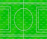 1/2 Sheet - Soccer Sports Field Birthday - Edible Cake/Cupcake Party Topper