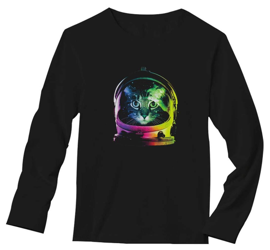 Stars Space Cat Astronaut Cat Helmet Shirts