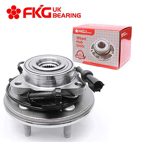 FKG 515078 Front Wheel Bearing Hub Assembly for 2006-2010 Ford Explorer 2007-2010 Ford Explorer Sport Trac 2006-2010 Mercury Mountaineer 5 Lugs W/ABS
