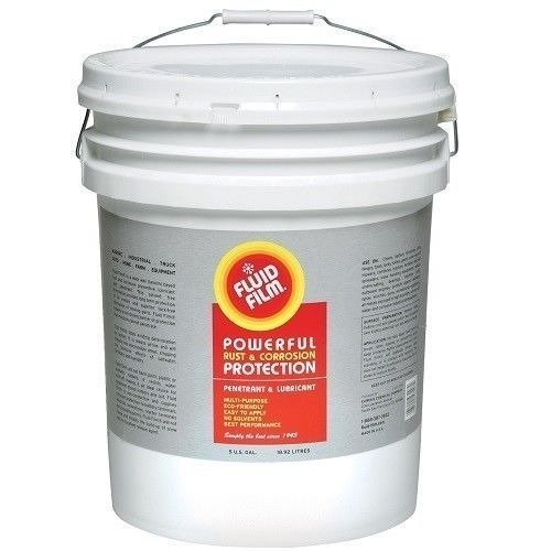 Fluid Film Rust & Corrosion Protection Control Multi Purpose Penetrant & Lubricant 5 Gallon
