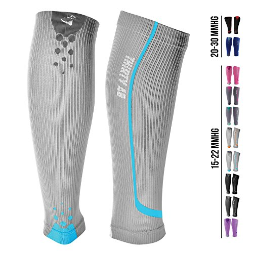 Graduated Compression Sleeves by Thirty48 Cp Series, Calf/Shin Splint Guard Sock