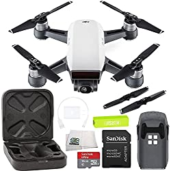 DJI Spark Portable Mini Drone Quadcopter Starters Bundle