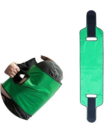 QIANGGAO Shift Belt Transfer Belt - Cinturón Auxiliar para Pacientes, Turn Over Care Belt,