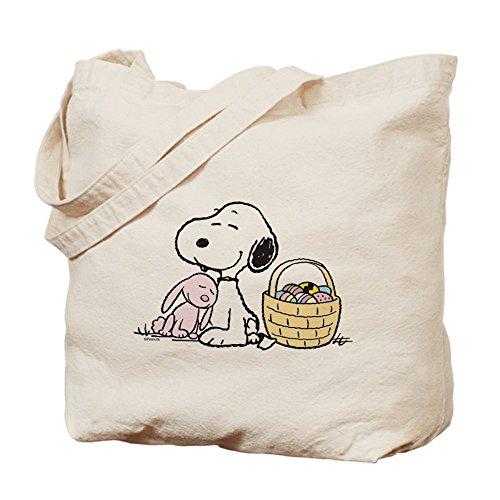 CafePress–Beagle y conejo–Gamuza de bolsa de lona bolsa, bolsa de la compra