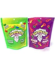 Warheads Variety Pack Extreme Sour Candy 72g & Sour Keys 100g