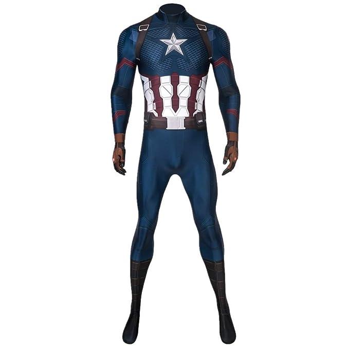 Amazon.com: Disfraz de superhéroe del Capitán Soldado de ...