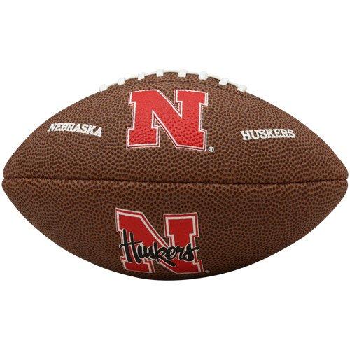 Wilson NCAA Nebraska Cornhuskers Team Football, Mini, Brown - Nebraska Cornhuskers Brown Football
