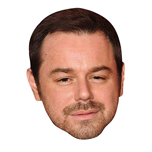 Danny Dyer Celebrity Mask, Card Face and Fancy Dress Mask