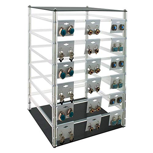 - Rotating Earring Display 96 Cards