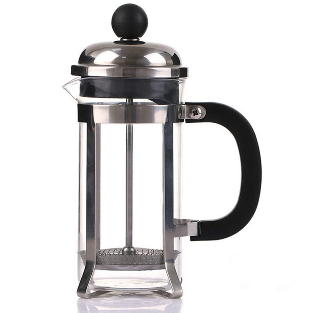 Mooyod Prensa Francesa cafetera eléctrica de Acero Inoxidable de ...