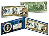DONALD TRUMP * Presidential Series #45 * Official Legal Tender $2 Bill w/Folio