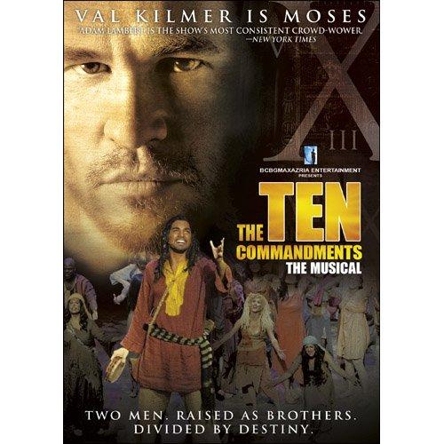 Amazon The Ten Commandments The Musical Val Kilmer Adam