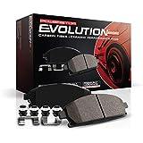 Power Stop Z23-1405, Z23 Evolution Sport Carbon-Fiber Ceramic Front Brake Pads