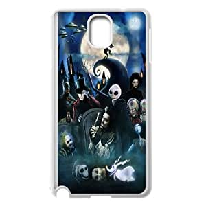 Unique Phone Case Design 16The Nightmare Before Christmas- For Samsung Galaxy NOTE4 Case Cover