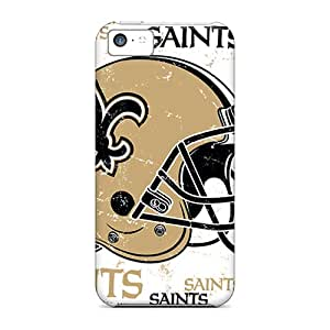 Tpu Fashionable Design New Orleans Saints Rugged Case Cover For Iphone 5c New