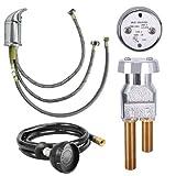 UPC Certified Salon Shampoo Bowl Faucet, Sprayer & Vacuum Breaker SU-94