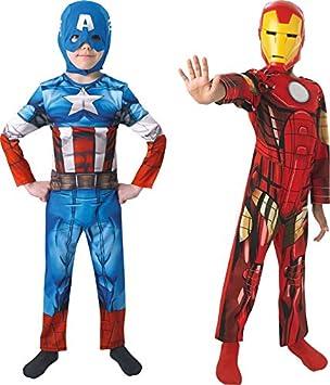 Marvel 154992m - Disfraces para niños, Vengadores - Capitán ...