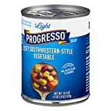 Progresso Light Southwestern Style Vegetable Soup, 18.5 Ounce