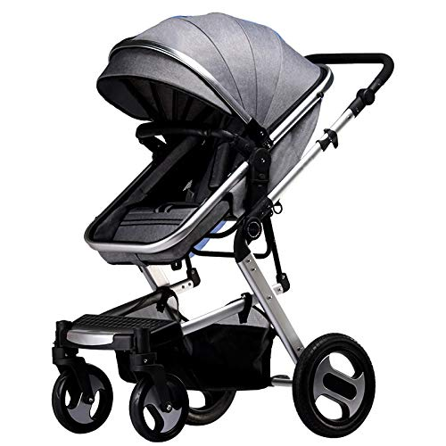 FANHUA Baby Stroller 2 in 1 Carriage High Landscape Pram (Color : F)