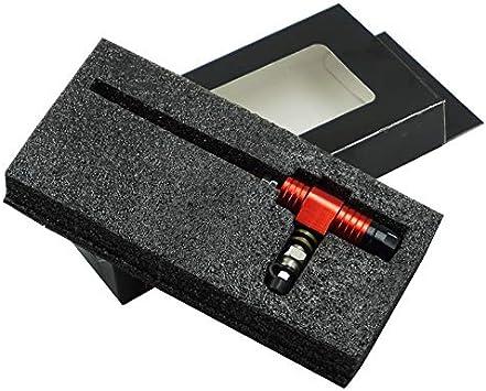 Couleur : Orange HANLING Moto Universelle Embrayage hydraulique ma/ître-Cylindre Tige Pompe de Frein en Aluminium M10x1,25 mm avec Piston de 14 mm