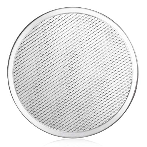 New Star Foodservice 50943 Seamless Aluminum Pizza Screen