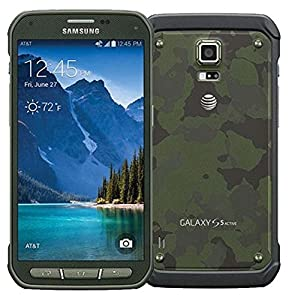 Samsung Galaxy S5 Active G870A 16GB Camo Green - Unlocked GSM (Certified Refurbished)