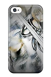 Amberlyn Bradshaw Farley's Shop Best Rugged Skin Case Cover For Iphone 4/4s- Eco-friendly Packaging(claymore)