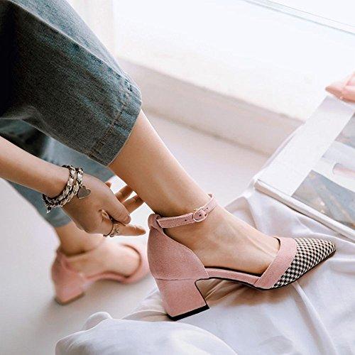 Sandalo Con Cinturino Alla Caviglia Da Donna Carolbar Con Fibbia A Punta