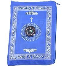 Muslim Rug Travel Prayer Rug Pocket Mat Waterproof Islamic Gift Ramadan Gift