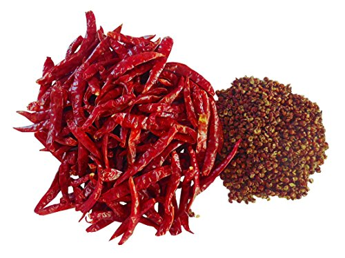 Superior Grade Red Sichuan Peppercorns 4 Oz WITH 8 Oz Whole Dried Thai Chile. We bring you BOTH the MA and the LA for your Sichuan cooking.or Mapo Tofu