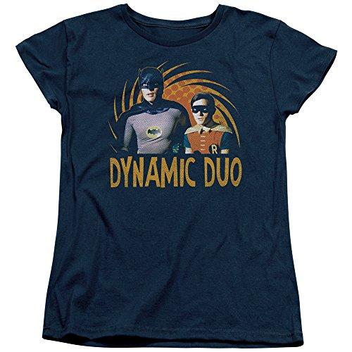 Batman Classic TV DC Comics Dynamic Batman & Robin Women's T-Shirt Tee