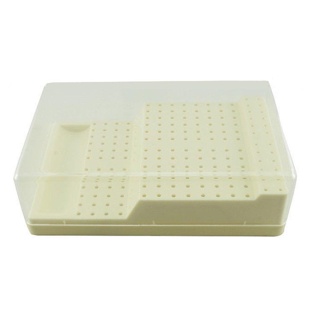 NSKR HPS Plastic Bur Case 168 Holes Autoclave Sterilizer Case Disinfection Box