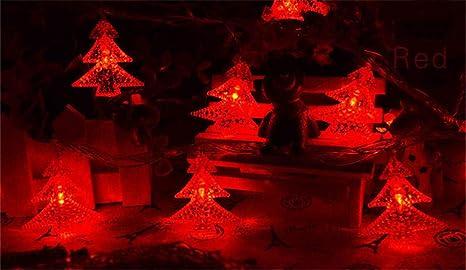Batería LED impermeable Caja de luces cadena de luces Luces ...