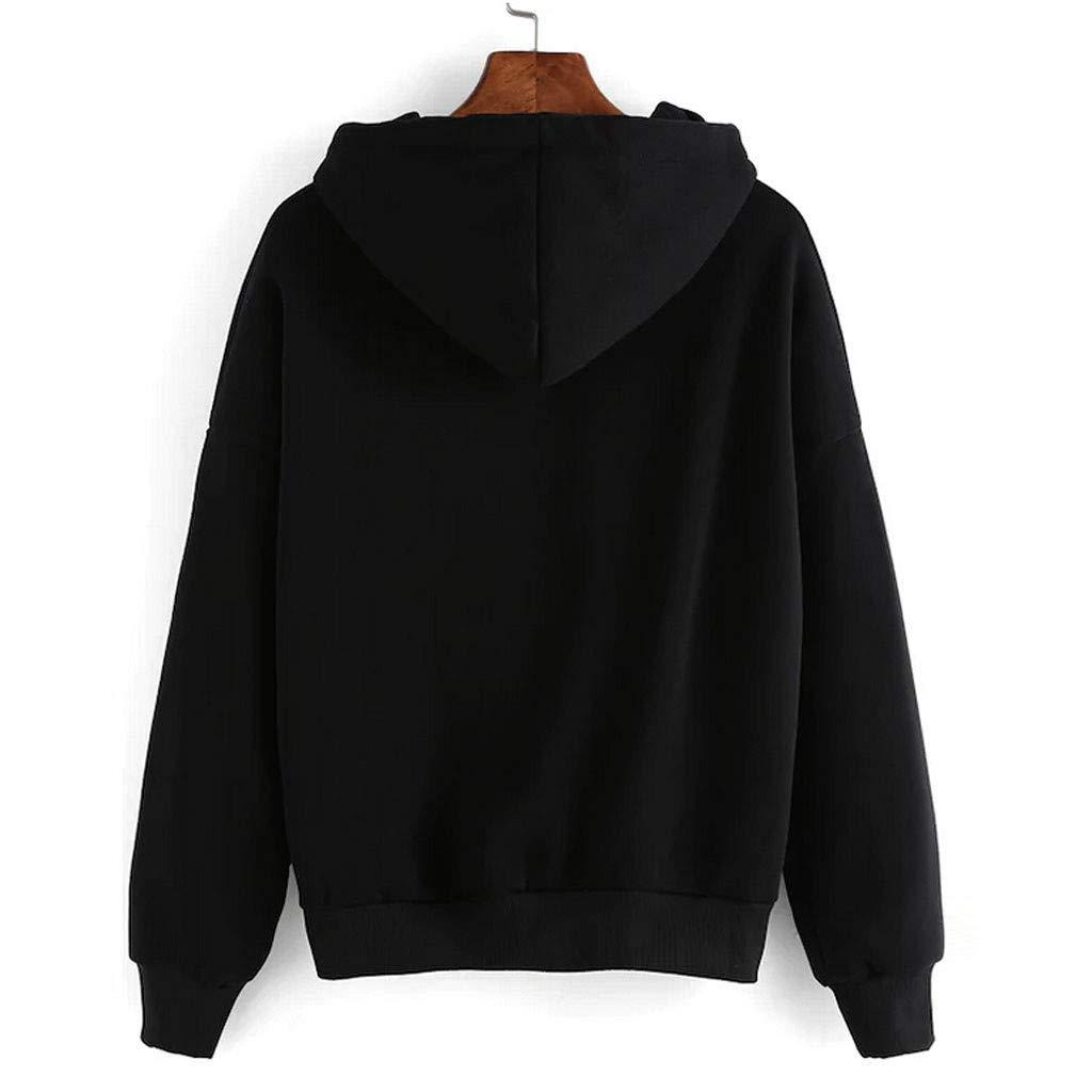 Ni/_ka Femme Casual /Él/égant Chemise Sweat /à Capuche /à Manches Longues Halloween Vampire Horror Blood T-Shirt Tops