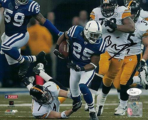 - Ben Roethlisberger Autographed Photo - 8x10 Vs Colts 20705 - JSA Certified - Autographed NFL Photos
