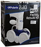 Zodiac K48 Factory Rebuild Replacement Kit for Zodiac Polaris 280 Black Max Pool Cleaner