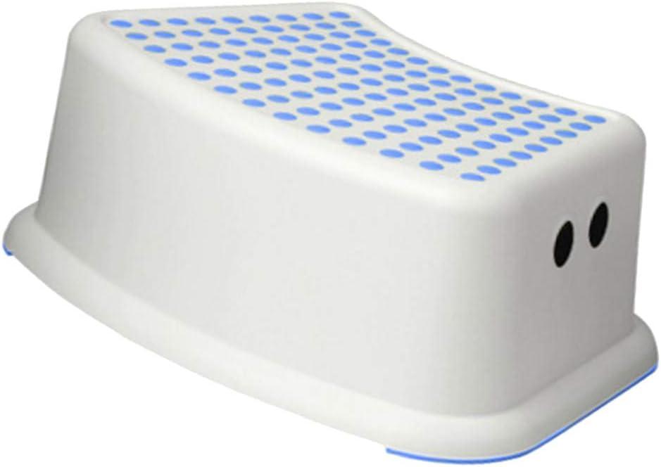 Blue B Blesiya Anti Slip Step Stool Plastic Bench for Kids Travel Outdoors Kitchen Bathroom