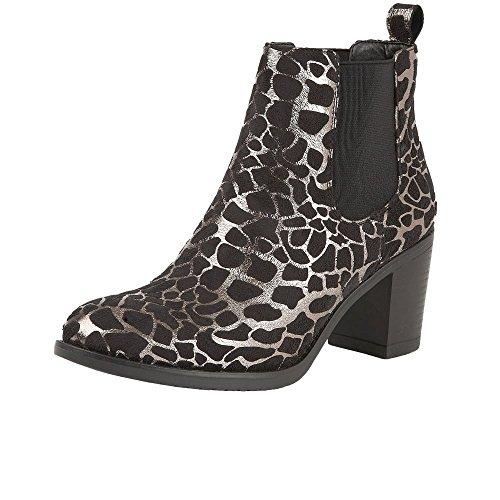 Lotus Ennis Womens Chelsea Boots Silver Print fIT0YKFItI