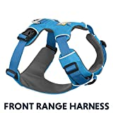 RUFFWEAR - Front Range, Everyday No Pull Dog Harness with Front Clip, Trail Running, Walking, Hiking, All-Day Wear, Blue Dusk (2017), Medium