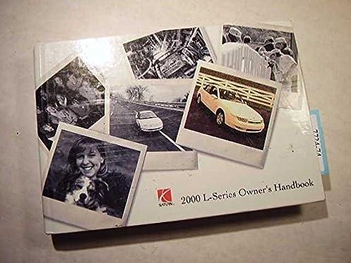 2000 saturn l series owners manual saturn motors amazon com books rh amazon com 2000 saturn ls owners manual 1994 Saturn SL1 Manual
