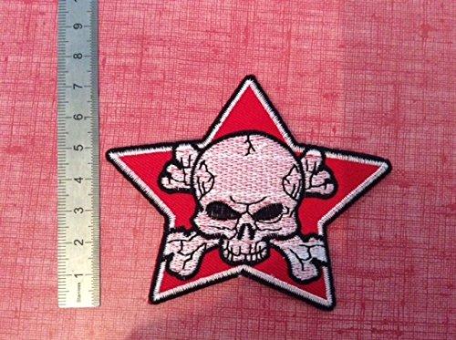 BLUE HAWAI Ecusson Patches aufnaher Toppa/ /Estrella de Calavera Pirata/ /termoadhesiva