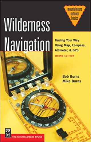 Wilderness Navigation Finding Your Way Using Map Compass - Altimeter map