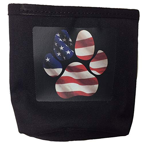- Doggone Good! Jr Bait Bag Flag Paw Print !!!Special Pricing!!!