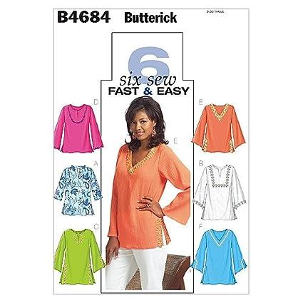 Amazon BUTTERICK PATTERNS B60 Misses'Misses' Petite Top And Gorgeous Mccalls Patterns