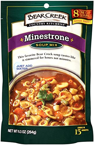- Bear Creek Soup Mix, Minestrone, 9.3 Ounce (Pack of 6)