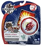 Bakugan Battle Brawlers Special Attack Season 2: Ingram (Pyrus - Red) - 'NOT' Randomly Picked, As Shown In the Picture!