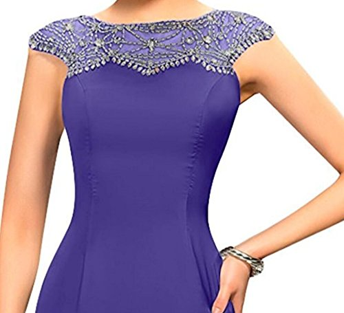 DressyMe Womens Exquisite Evening Dresses Sheath Beaded Long Party Dress