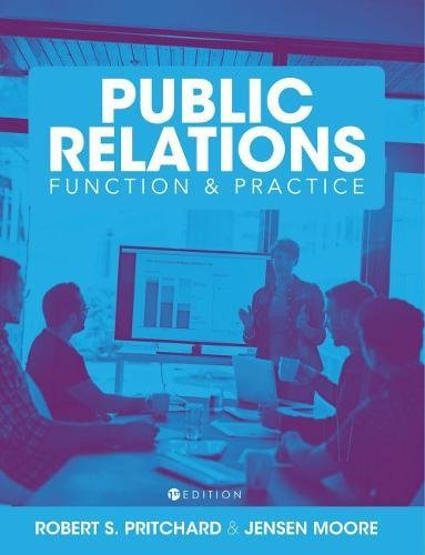 The Comprehensive Public Relations Reader: Function and Practice